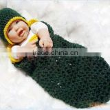 Knitted sleeping sack