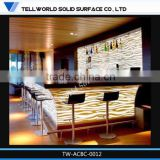 bar counter for night club bar counter for wine Acrylic Solid Surface Cheap Home Mini Bar For Sale