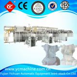 Pampers Style Baby and Newborn Diaper Machine with CE Certification