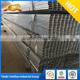 china factory cheapest price cold rolled RHS gi pre galvanized steel pipe tube hollow section