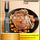 BBQ Barbecue Fork Digital Meat Thermometer Turkey Thermometer