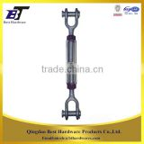 Fastener manufacturer US type galvanized mini turnbuckle with jaw and jaw