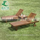 Outdoor swing lounge, swimming pool lounge chair in wood                                                                         Quality Choice