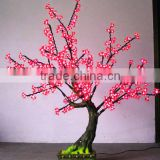 new led decorative bonsai cherry tree wedding decoration artificial fake cherry blossom tree