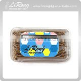 Rectangle Simple Design Box with Golden bobby pins