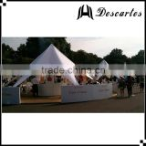 14m white star event canopy, star shade tents, large wedding marquee tents for sale