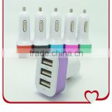 Dual USB Car Charger 5V 5.1A For Apple iPhone 4 5 5S 6 iPad 2 3 For Samsung Galaxy S3 S4 Note 2 3 Mini Car Charger Adapter