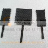 lead oxide plated titanium anode for wastewater treatment