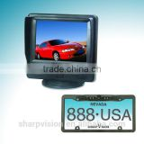 "car backup camera system with 3.5"" digital touch-screen monitor"