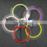 customsized size el light tape cut into circle shape with edge