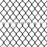 Decorative stainless steel chain link fence top barbed wire