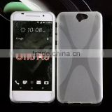 Cell phone accessory X line phone case tpu cover mobile phone case for htc one a9 fast shipping