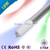 New patent replaceable driver t8 tube 18W 120cm PF>0.9 1800-1900LM with CE and RoHS t8 led tube