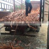 China export copper scrap /copper wire scrap millberry 99.99%