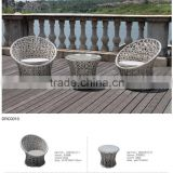 Resin Garden Furniture/Wicker Outdoor Bistro Set