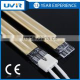 China supplier UVIR No.THG100165 Short Wave Twin Tube Gold Refletor halogen heating lamp