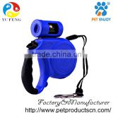 Brand New Handle Design-Retractable Dog Leash - Ribbon Style Leash for Smoother Retraction and Does NOT Burn Skin