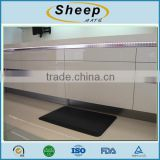anti slip anti-fatigue floor mat black with high quality
