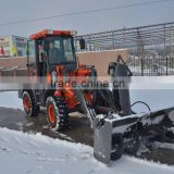 high speed Snow cleaning Machine ZL16 OJ16 wheel loader with Snow tires