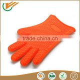 100% food grade heat resistant silicone Material and Oven Usage BBQ silicone grill gloves