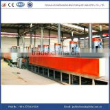 continuous mesh belt inert gas electric digital control resistance muffle furnace for hardening