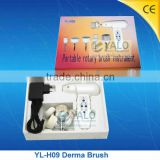 (YL-H09) Rotary electric scrubber portable hand held facial clean brush beauty instrument