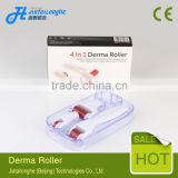 4 in 1 dermaroller kit with sterilizer derma collagen skin care products beauty roller 4 in 1 derma roller stainless