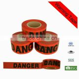 PE&PA warning tape Offer Bopp clear warning adhesive tape carton sealing bopp warning tape