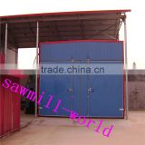 Industrial electric wood dry kiln with control cabinet