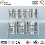 iron covered glassware glass kitchen canister sets