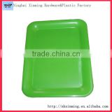 Factory large plastic square tray