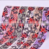 "hi-ana ribbon 169 100 Yard British Flag Ribbon 25mm - Union Jack UK Ribbon - Grosgrain Ribbon 1"" Wide"