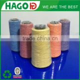 Ne20s/2 blended cone yarn for dyeing machine in knitting yarn for bed sheet