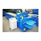 Double Layer Cold Roll Forming Equipment For Color Steel Plate , Hydraulic Control System