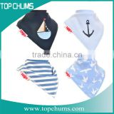 Wholesale softtextile organic baby body cotton bandana bibs