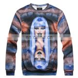 Exclusive beautiful girl printed custom sweatshirt