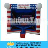Inflatable baseball for party/entertainment