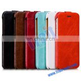 HOCO General Series Vertical Flip Crazy Horse Genuine Leather Case for iPhone 6 4.7 inch