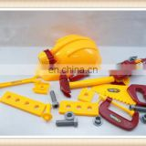 kids plastic toy tool set,hat toy helmet