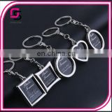 2017 fashionable keyrings,metal all kinds of keyrings, words keyrings