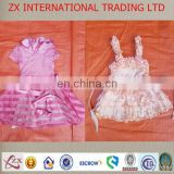 Supplier singapore summer dress children wholesale used baby clothing