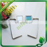 metal bag hanger photo frame, metal purse hanger with photo frame, metal photo bag holder