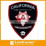 University logo patch for school uniform, college school badge embroidered