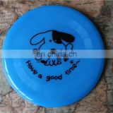Distinctive promotional dog frisbee