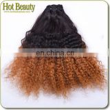 5A Brazilian Hair Weaves With Two Tone Colors Virgin Brazilian Burgundy Hair Extension