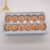 wholesale real preserved flower head flower silk roses heads suppliers