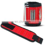 Magnetic wristbands tool holder belt for holding screws and small tools