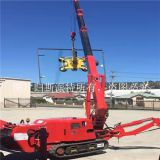 SPT Factory supply 3T 5T mini mobile spider crane with 2 years warranty
