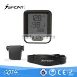 Heart Rate Monitor 5.3k Frequency Wireless Transmition Cycling Computer Bicycle Bike Computer