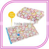 Accept Custom Order and PA/PE,NY/PE Material custom printed vacuum storage bags clothes travel